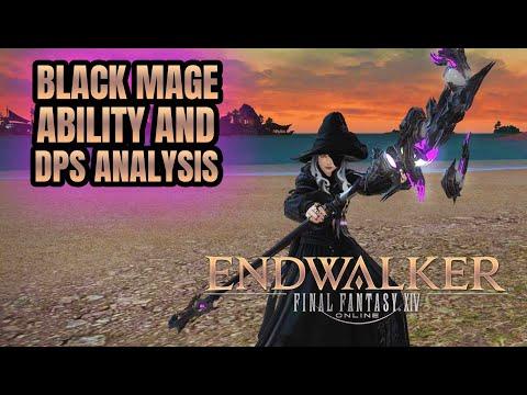 Final Fantasy 14 Endwalker: Black Mage Analysis - BIGGER EXPLOSIONS? | Media Tour