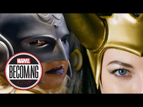 Thor vs. Lady Loki - Marvel Becoming - Cosplayers A2 Cosplay & Ashlynne Dae Face Off