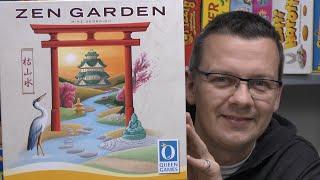 Zen Garden (Queen Games) - ab 8 Jahre - einfach und schnell gespielt!
