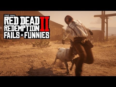 Red Dead Redemption 2 - Fails & Funnies #95
