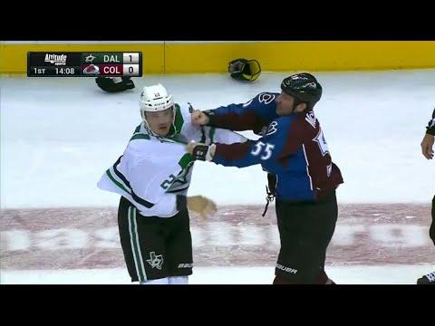 Antoine Roussel vs Cody McLeod