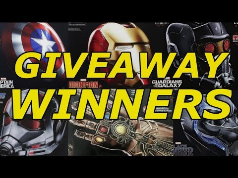450,000 Subscriber Giveaway Winners & NEW Giveaway!