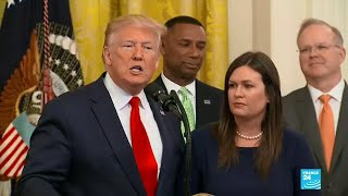Sarah Sanders Resigns As White House Press Secretary
