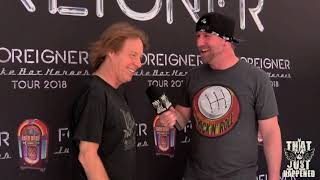 Jeff Pilson, Foreigner Juke Box Heroes Tour - Live Interview