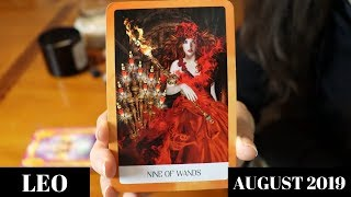 Leo! You Need To Avoid Them! Period! August 2019 - Tyler's Tarot