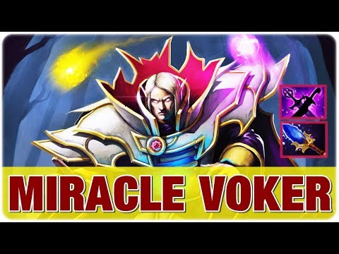 Miracle GODvoker is Back - Invoker vs CANCER Brood, Pro Gameplay DotA