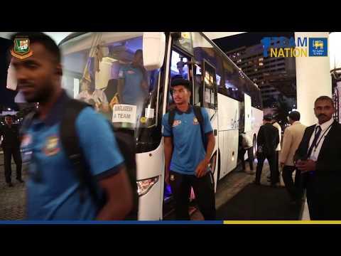 Bangladesh 'A' team Arrived in Sri Lanka
