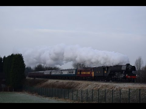Flying Scotsman Weekend on the East Lancs Railway 16th Janua…