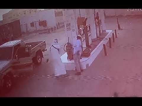 القبض على شخص أطلق النار على عامل محطة وقود بالرياض