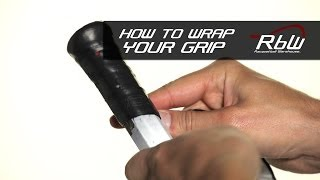 How to Install a Wrap Grip on a Racquetball Racquet