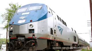 preview picture of video 'Amtrak at Fort Edward-Glens Falls'
