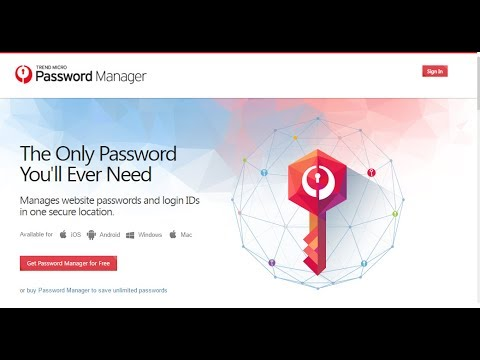 How To Install Trend Micro Password Manager On The Mac