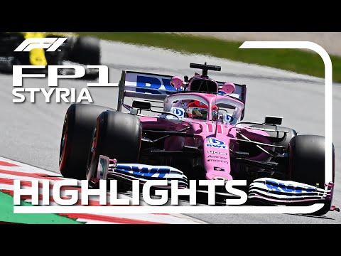 F1 2020 第2戦ピレリ・シュタイアーマルクGP FP1ハイライト動画