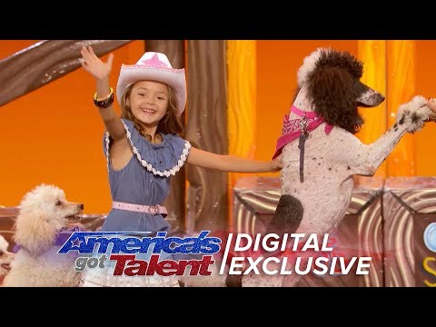 Unbelievable Animals Take Over The AGT Stage - America's Got Talent 2017 (видео)