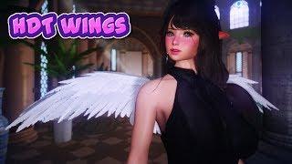 skyrim LE HDT wings + Dance