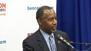 Dr. Ben Carson Press Conference Part 2 of 2