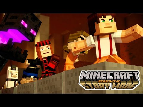 JACK!! WHAT HAVE I DONE?! | Minecraft: Story Mode Season 2 | Episode 4 [1]