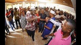 Raila Odinga gets a heroic welcome as Coastal leaders declare him the People's President