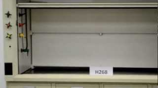 6′ Hamilton Safeaire Laboratory Fume Hood w/ Epoxy Counter Tops Base Cabinets