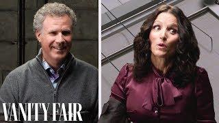 Will Ferrell & Julia Louis-Dreyfus Take a Lie Detector Test | Vanity Fair