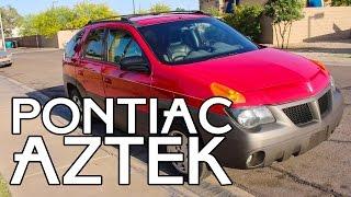 ПОНТИАК АЦТЕК ОБЗОР МАШИНЫ - PONTIAC AZTEK