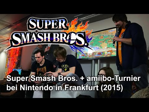 Super Smash Bros. + amiibo Turnier in Frankfurt