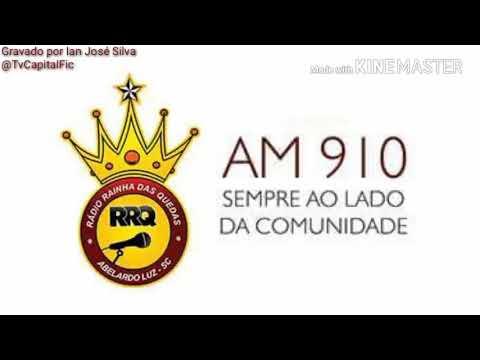 Algumas vinhetas da Rádio Rainha das Quedas 910 KHz - Abelardo Luz - SC