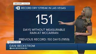 13 First Alert Las Vegas evening forecast | Sept. 18, 2020
