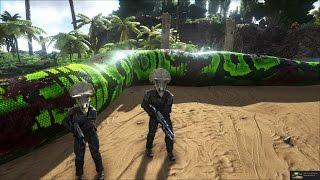ARK: Survival Evolved Online #14 - Tàn phá thế giới khủng long, bắt được Trăn khổng lồ Amazon =))