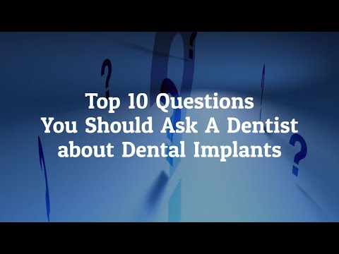 Top 10 Questions to Ask A Dentist about Dental Implants In Los Algodones, Mexico