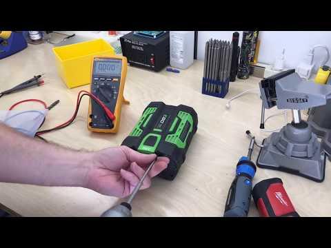 EGO 56V ARC Lithium Battery Teardown