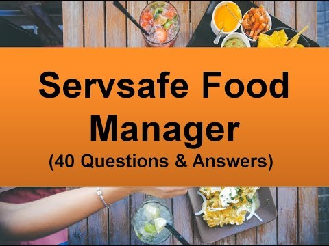 Servsafe Food Manager Practice Exam Questions (40 Q&A) - YouTube