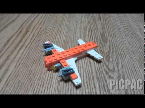 Vidéo LEGO Creator 5762 : Le mini avion