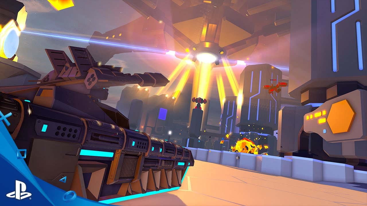 Battlezone on PSVR Has Four-player Co-op