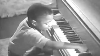 Young Little Richard Playing Piano = Amazing