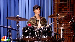 Justin Bieber and Questlove Drum-Off