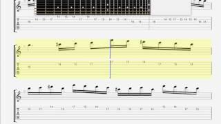 Children Of Bodom   Kissing The Shadows GUITAR 1 TAB