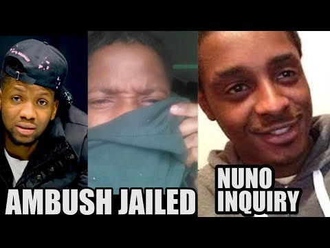 Ambush -Locked Up & Nuno Cardoso Police Death Inquiry #Musicnews