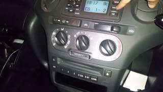 Toyota Yaris T Sport usb aux cd player