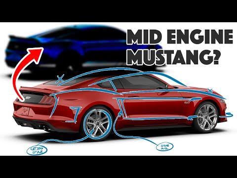العرب اليوم - شاهد: تحويل فورد العضلات الشهيرة إلى سيارة بمحرك وسطي وهي GT