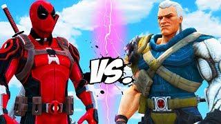 DEADPOOL vs CABLE - Epic Battle