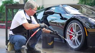 NEW FORD GT: First Wash & Drive