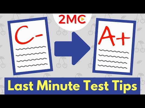 3 Last Minute Test Taking Strategies that WORK!   Exam and Test Prep
