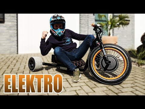 DAS BESTE ELEKTRO DRIFT-TRIKE ALLER ZEITEN! | Driftwerk Trike BOLT Review - Test [Deutsch/German]