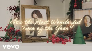 Mandy Moore - It's The Most Wonderful Time Of The Year (Lyric Video)