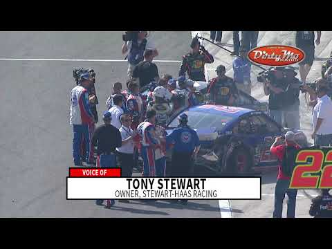 Stewart: I had Logano 'hemmed up' at Auto Club in 2013