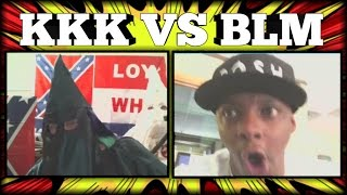 KKK VS BLM