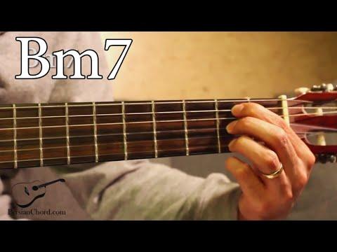 Bm7 Chord on Guitar