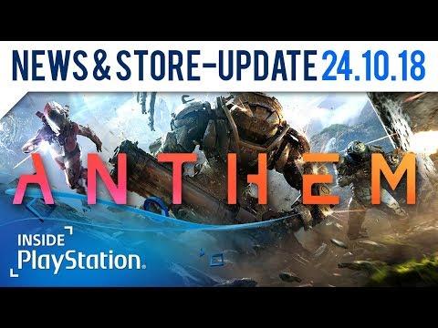 Anthem: Neues Gameplay am 1. November   PlayStation News & Store Update