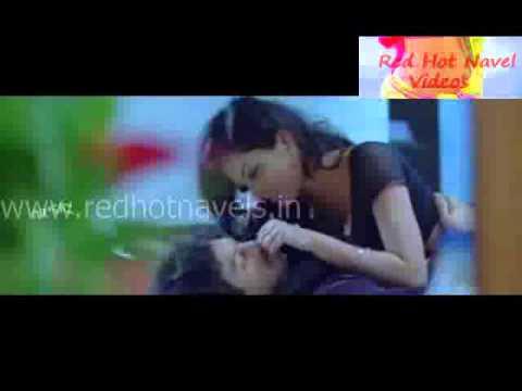 Really hot black saree navel kissing and pressing